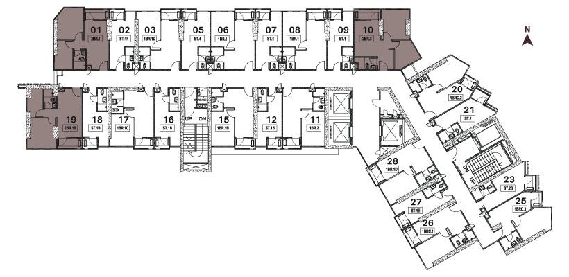 Vasaka Nines Deluxe Floorplan